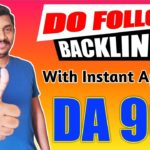 Get High Quality Do Follow Backlinks with DA 90+ to Increase Website Traffic in 2020