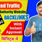 Get Unlimited Traffic with High Authority WIKIPEDIA Backlinks in 2020 | With Instant Approval