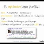 Google + Tutorial: Use Google Plus To Increase Your Website SEO Google Rankings