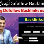 How to create Dofollow Backlinks in 2020 | using Backlink Opportunities Finder - Urdu