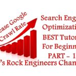 How to increase Google Crawl Rate in SEO - SEO  For Beginners PART - 12