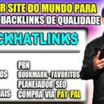 O MELHOR SITE DO MUNDO PARA COMPRAR BACKLINKS DE QUALIDADE WEB 2.0, PBN, BLOG | Cristiano Souza