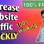 QUICKLY Increase Website Unlimited REAL Traffic|Get More Organic Traffic On Website/Blog-Rank No.1