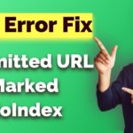 SEO Error - Post Links/Submitted URLs Marked NoIndex - Fixed | OK Ravi SEO Tutorial