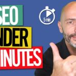 SEO in Under 5 Mins a Day for High Google Rankings in 2020