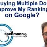 Will Buying Multiple Domains Improve My Ranking with Google?