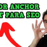 🥇 ANCHOR TEXT ✅ Qué es y qué RATIO usar para SEO (backlinks) - LINK BUILDING