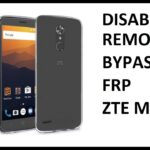 Disable Bypass Remove Google Account Lock FRP on Boost Mobile ZTE Max XL!
