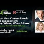 Boost Your Content Reach and Engagement: Why, Where, When & How