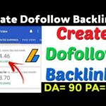 Create High Quality Instant Approval Dofollow Backlinks 2020 | Dofollow Backlinks | Backlinks |