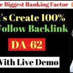 Do follow Backlink:  Create 100% do follow Backlink from High DA website with Demo In Hindi