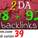 Free 2 DA 90+ backlinks: Ampleom.com backlink video guide 39