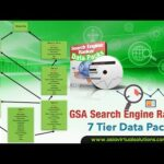 GSA Search Engine Ranker 7 Tier Data pack Overview by Asia Virtual Solutions - GSA SER 7 Tier