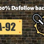 Get 100% Dofollow backlink DA-92 | how to create backlinks to your website