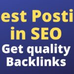 Guest Posting in SEO   Get high quality backlinks from guest posts  Search engine optimization