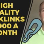 How High Quality Backlinks Make Me $1000 Every Month