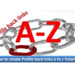 How to create Profile backlinks for my website a to z  bangla Tutorials