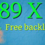 How to get 2 DA 89 backlinks for free