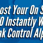 Link Control Alpha (Boost Your On Site SEO Instantly!)