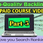 Off Page Form Posting And Creating .edu / .gov  | How to Get High Quality Backlinks Telugu Part-5