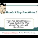 Should I Buy Backlinks?