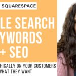 Squarespace Tutorial [2020] SEO and Google Search Keywords