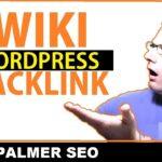 Wordpress SEO Tutorial: How to Get Wiki Backlink 2019