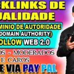 💥 COMO COMPRAR BACKLINKS DE QUALIDADE DOFOLLOW WEB 2.0 ALTO DOMAIN AUTHORITY | Cristiano Souza