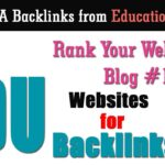 3 Educational Websites for Backlinks  | Create High DA Edu Backlinks