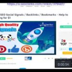 Buy SEO Social Signals Backlinks  Bookmarks   Help to ranking On SEOClerks 2019   2020