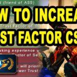 [CS:GO] How To Increase Trust Factor CSGO | How To Fix Trust Factor CSGO 2020
