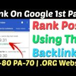 Create Instant Approval High Quality Dofollow Backlinks 2020 | Make Dofollow Backlinks | Backlinks |