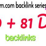 DA 89 + 81 backlinks free: Ampleom.com backlink series 55