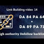 DA 89 PA 71 + DA 84 PA 68 Dofollow Backlinks in 2020 | Link building in Hindi | Backlinks Video 14