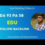 DA 93 PA 58 Free Do follow Backlink from .edu website