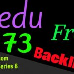 Get DA 73 .EDU Backlink within 2 minutes