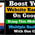 Get Multiple Quality Backlinks with One Click by Using SEO Backlinks -  Ridents App | Learn 2 Smart