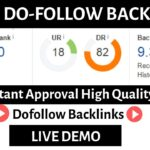 High Domain Authority Instant Approval Dofollow Backlinks Boost Your Website Traffic