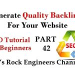 How to Create High Quality Backlinks - SEO Backlink Generator PART - 42