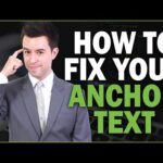 How to Fix Anchor Text Problems (Over-Optimized Backlinks)