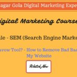 How to Remove Bad Backlinks From My Website | What is Disavow Tool? - Hindi