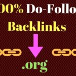 How to create dofollow backlinks on .org site in Hindi