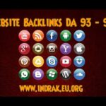 Website Backlinks Domain Authority 90 - 93