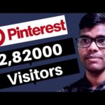 how to get traffic to your website from pinterest || increase website traffic fast free
