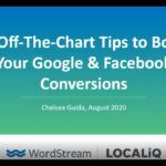 10 Off The Chart Tips to Boost Your Google & Facebook Conversions