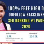 100% Free Dofollow Backlinks 2020 High DA & PA | SEO |  Search Engine Ranking