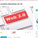 800 Web 2.0 profiles Backlinks for $1 on SEOClerks