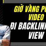 Canh Giờ Public Video Lên Giờ Vàng Youtube -  Chạy Backlink Cho Video