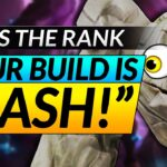 "GUESS THE RANK - ""YOU ARE AS TRASH AS YOUR BUILD!"" - Pro Coach Gameplay Review 