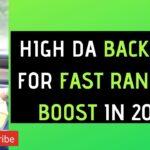 High DA Quality Backlinks For Fast Ranking Boost | Rank Higher on Google | SEOLOGY
